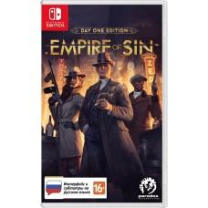 Empire of Sin Издание первого дня русские субтитры для Nintendo Switch