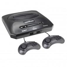 Retro Genesis Remix 8+16Bit Classic + 600 игр (AV кабель, 2 проводных джойстика)