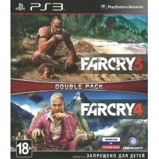 2 в 1 Far Cry 3 + Far Cry 4 русская версия для PS3