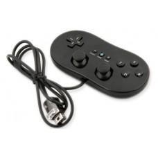 Classic Controller черный для Nintendo Wii