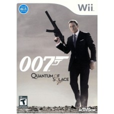 Игра для Nintendo Wii и WiiU 007 Quantum Of Solace