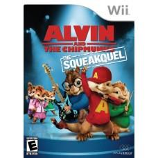 Игра для Nintendo Wii и WiiU Alvin and The Chipmunks