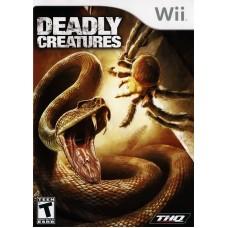 Игра для Nintendo Wii и WiiU Deadly Creatures