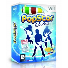 Popstar Guitar  + контроллер AirG для Wii
