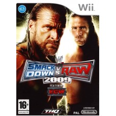 WWE Smackdown vs Raw 2009 русская документация для Wii