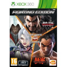 Fighting Edition (Tekken 6+Soul Calibur 5+Tekken Tag Tournament 2) русские субтитры для Xbox360