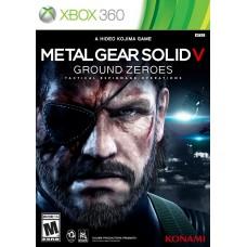 Игра для Xbox 360 Metal Gear Solid V: Ground Zeroes русские субтитры